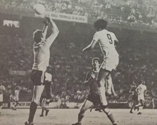 16.08.1977: Valencia CF 5 - 3 Hon. Budapest