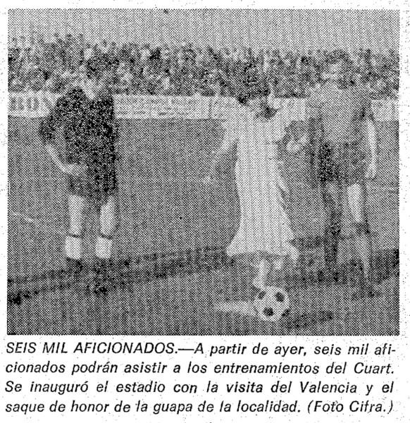 30.08.1977: Quart de Poblet 2 - 9 Valencia CF