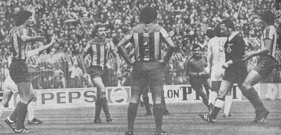 06.11.1977: Real Madrid 1 - 0 Valencia CF