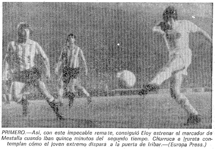 18.12.1977: Valencia CF 3 - 1 Athletic Club