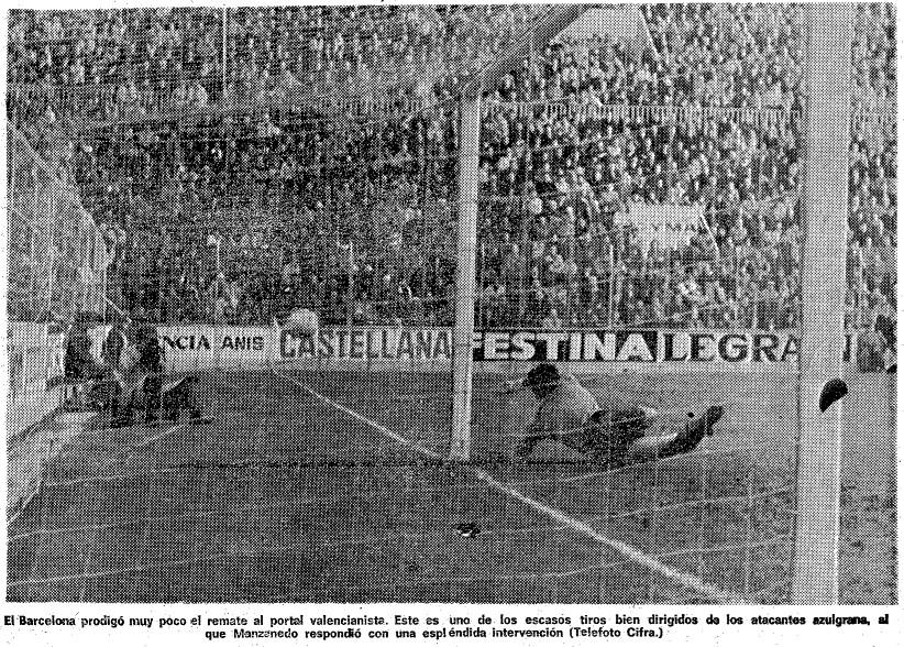 15.01.1978: Valencia CF 1 - 0 FC Barcelona