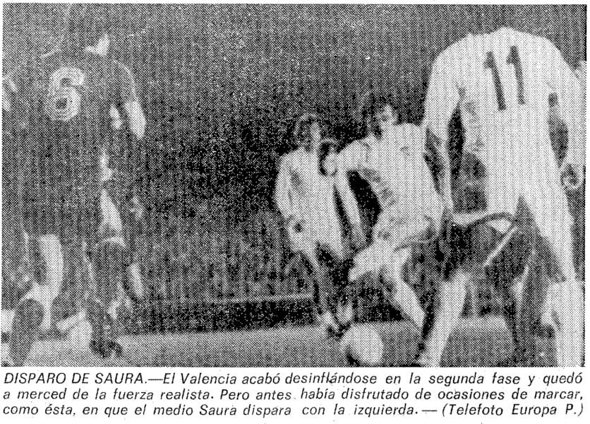 15.02.1978: Valencia CF 1 - 1 Real Sociedad