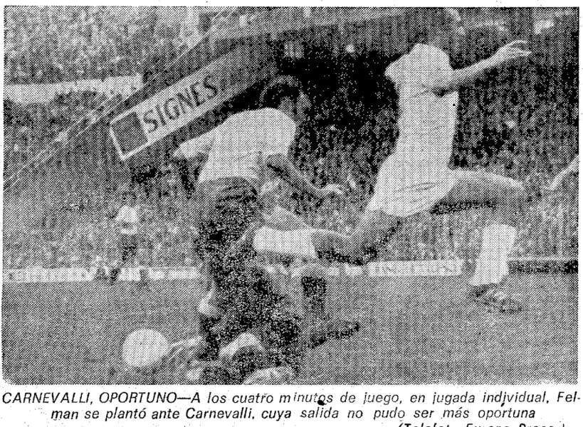 19.02.1978: Valencia CF 0 - 1 UD Las Palmas