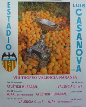 23.08.1978: Valencia CF 1 - 0 AFC Ajax