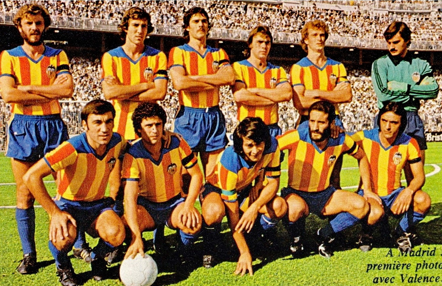 03.09.1978: Real Madrid 2 - 1 Valencia CF
