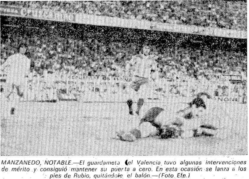 12.05.1979: Sevilla FC 0 - 2 Valencia CF