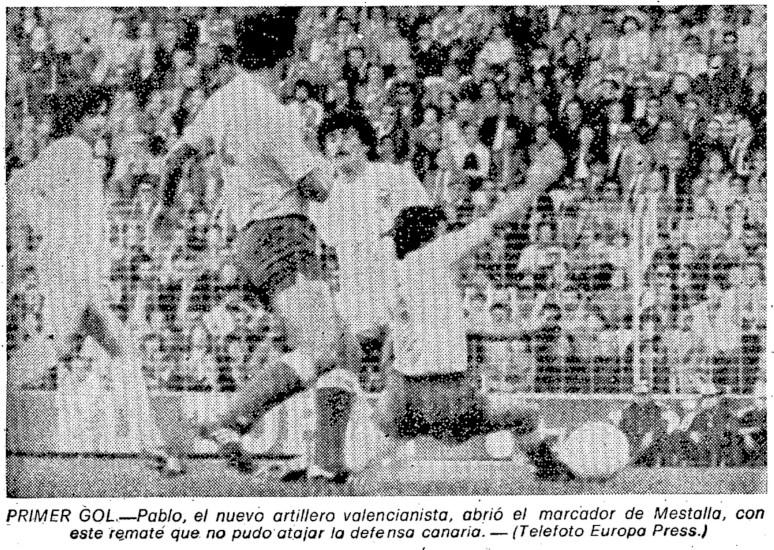 18.11.1979: Valencia CF 4 - 0 UD Las Palmas