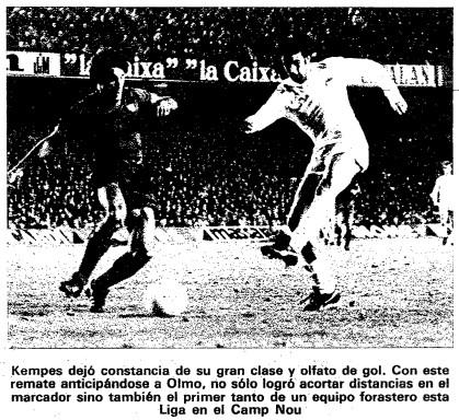 30.12.1979: FC Barcelona 2 - 1 Valencia CF