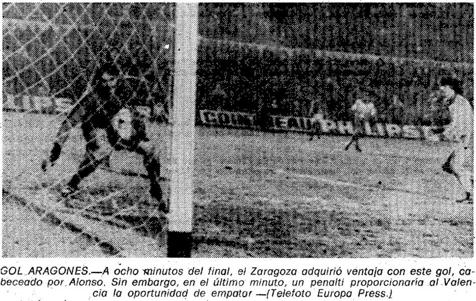 13.01.1980: Real Zaragoza 1 - 1 Valencia CF