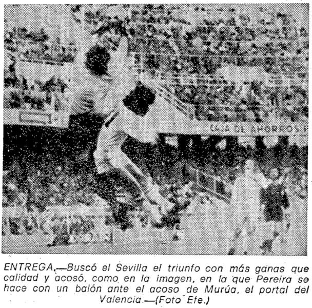 16.03.1980: Sevilla FC 2 - 1 Valencia CF