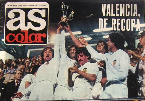 14.05.1980: Arsenal FC 0 - 0 Valencia CF