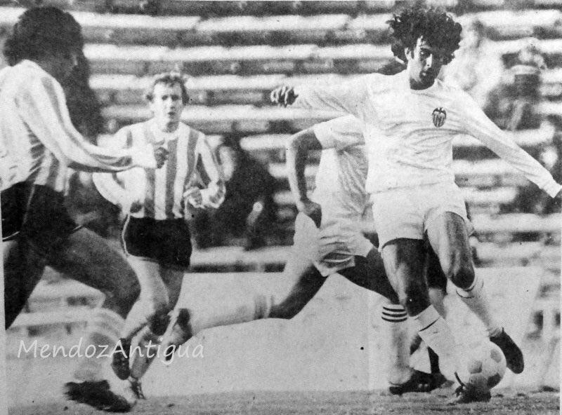 01.08.1980: Arg. Mendoza 2 - 0 Valencia CF