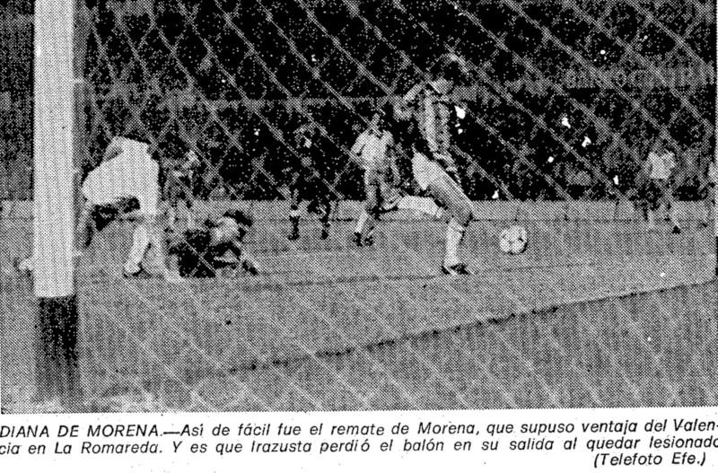 12.10.1980: Real Zaragoza 1 - 1 Valencia CF