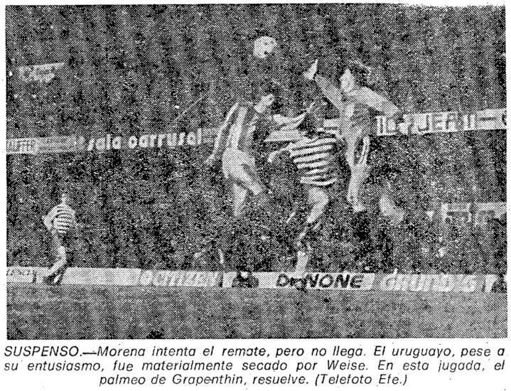 05.11.1980: Valencia CF 1 - 0 Carl Zeiss Jena