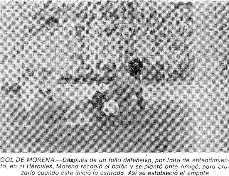 18.01.1981: Hércules CF 1 - 1 Valencia CF