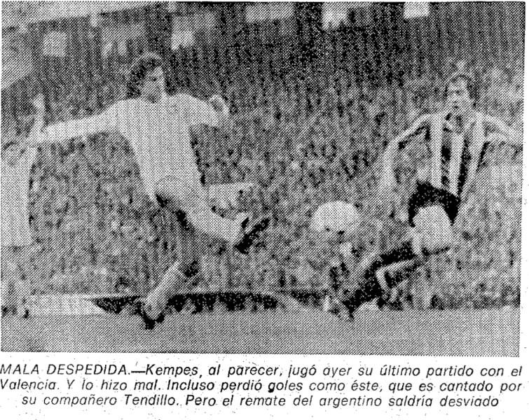 08.03.1981: Valencia CF 0 - 0 Athletic Club