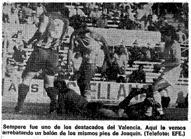 15.03.1981: Sevilla FC 1 - 0 Valencia CF