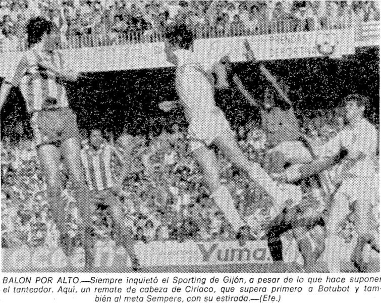 05.04.1981: Valencia CF 3 - 1 Sporting Gijón