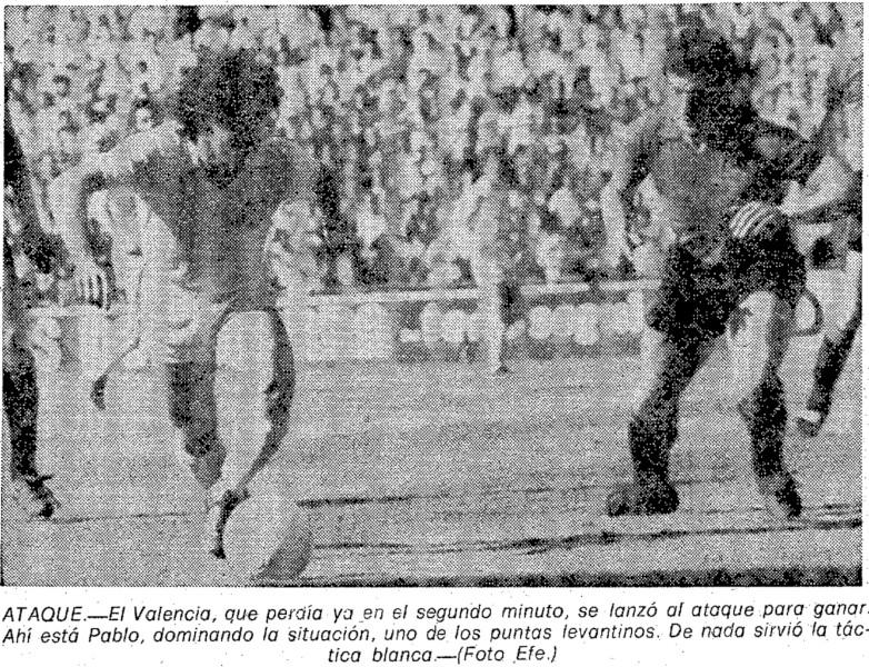19.04.1981: CA Osasuna 2 - 0 Valencia CF
