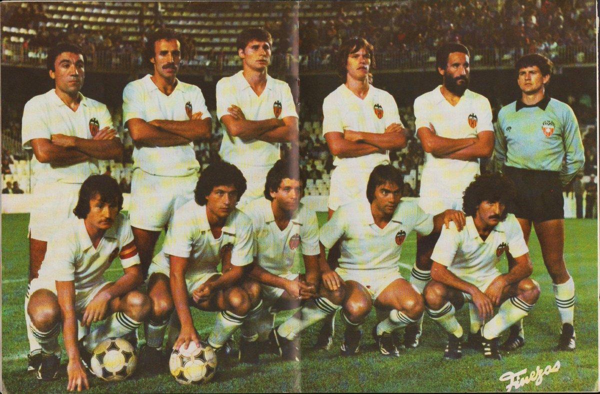 26.09.1981: Valencia CF 3 - 0 Real Valladolid