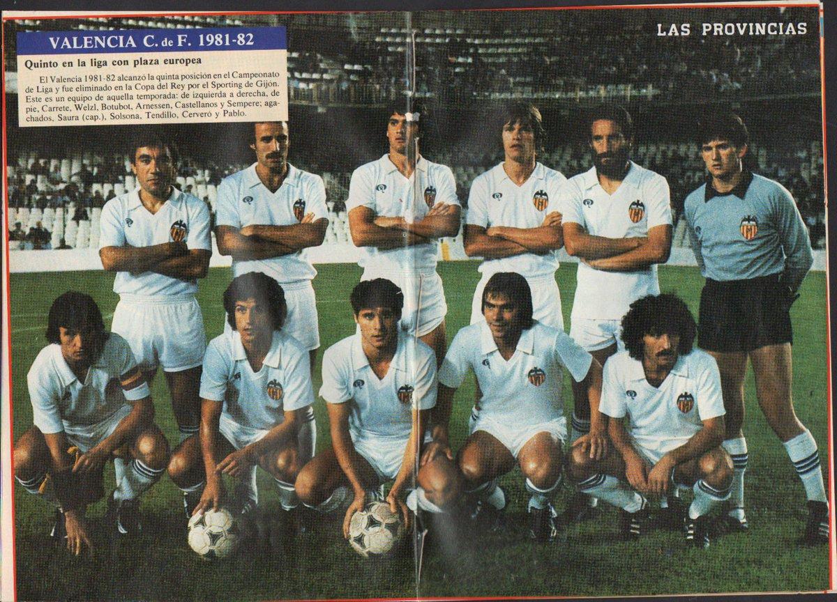 04.10.1981: Valencia CF 1 - 1 RCD Espanyol