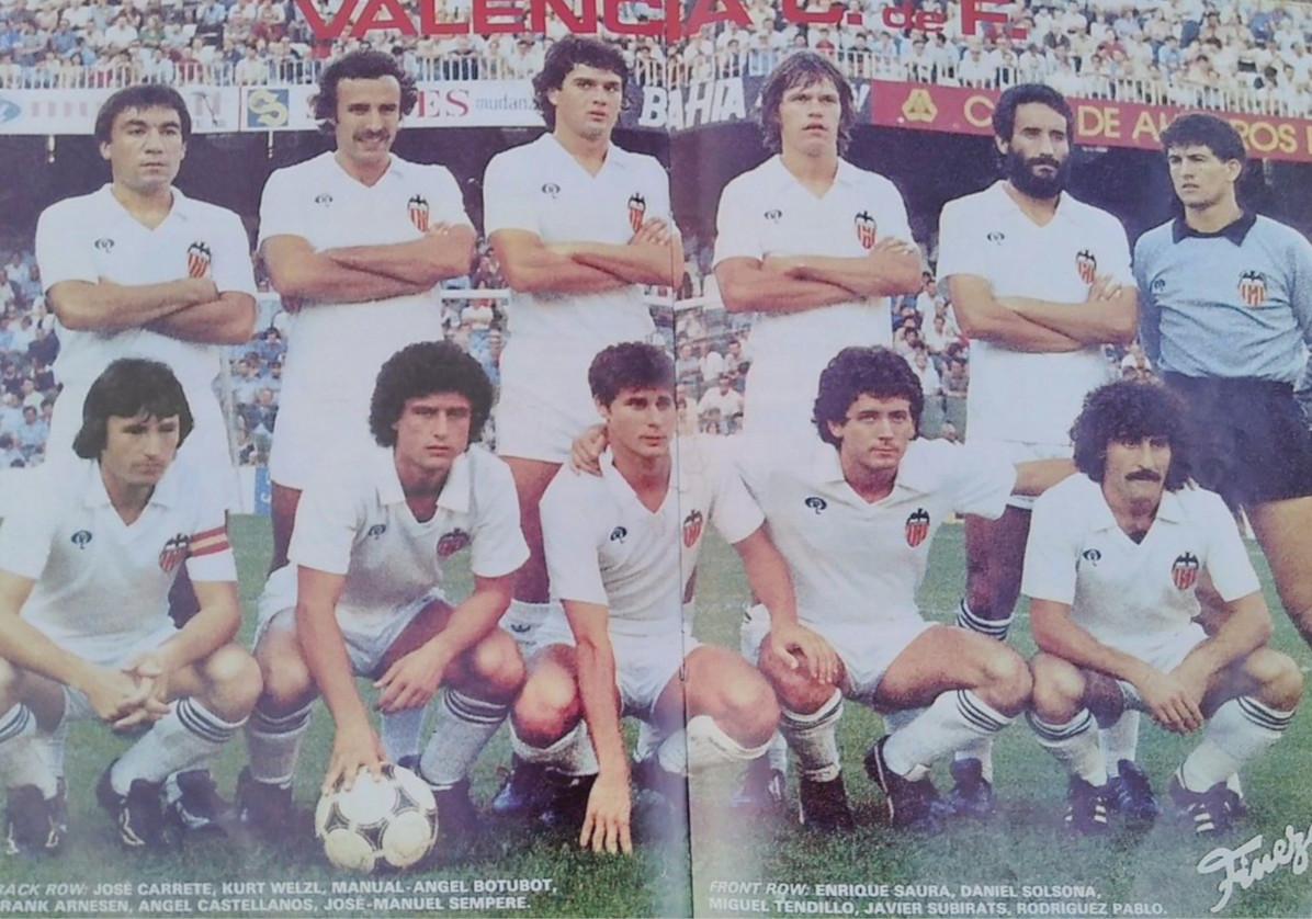 11.10.1981: Valencia CF 4 - 0 Athletic Club