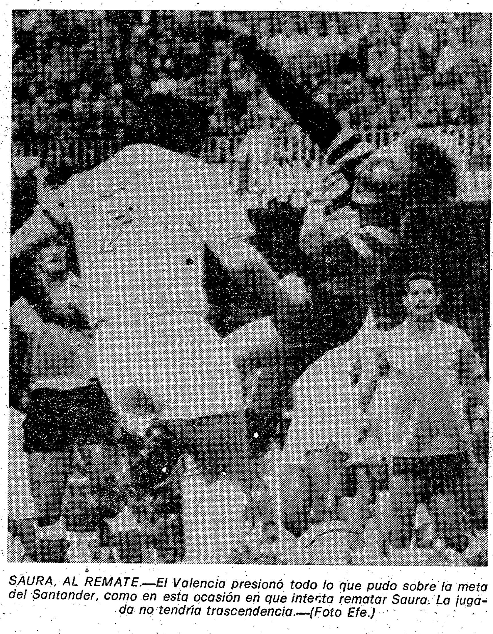 29.11.1981: Valencia CF 3 - 0 Rac. Santander