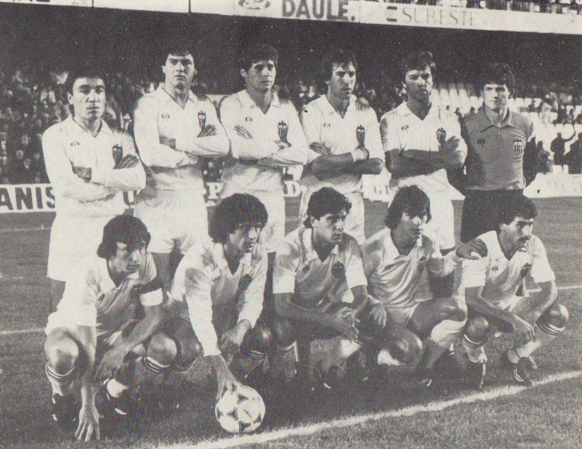 12.12.1981: Valencia CF 1 - 0 At. Madrid