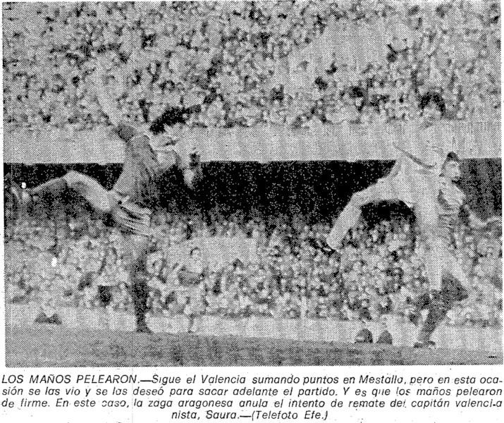 03.01.1982: Valencia CF 2 - 1 Real Zaragoza
