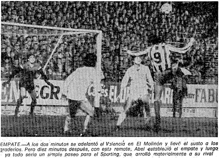 20.01.1982: Sporting Gijón 6 - 1 Valencia CF