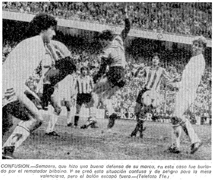 31.01.1982: Athletic Club 1 - 0 Valencia CF