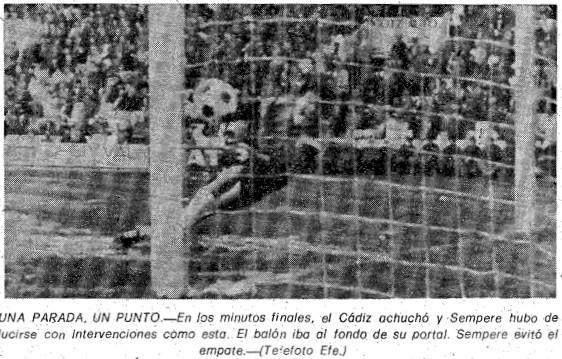 21.02.1982: Valencia CF 1 - 0 Cádiz CF