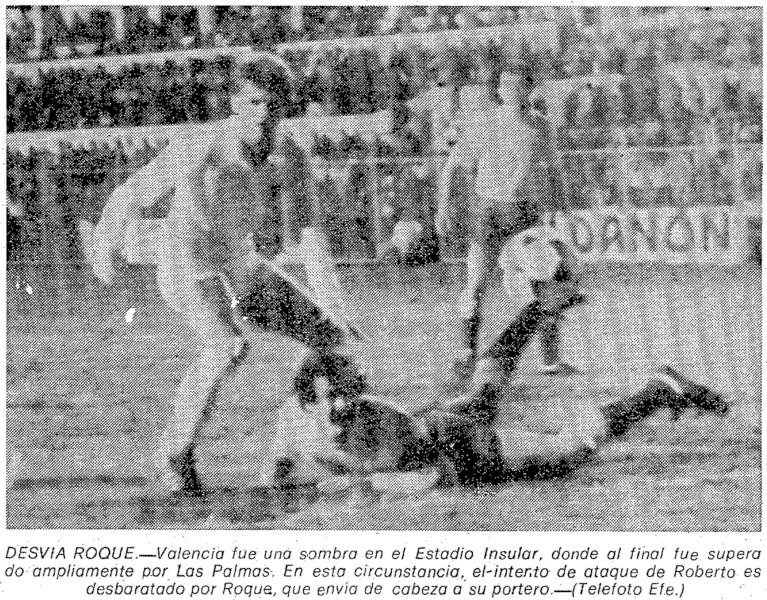 28.02.1982: UD Las Palmas 3 - 0 Valencia CF