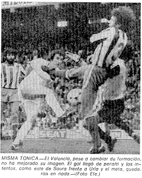 07.03.1982: Valencia CF 1 - 0 Sporting Gijón