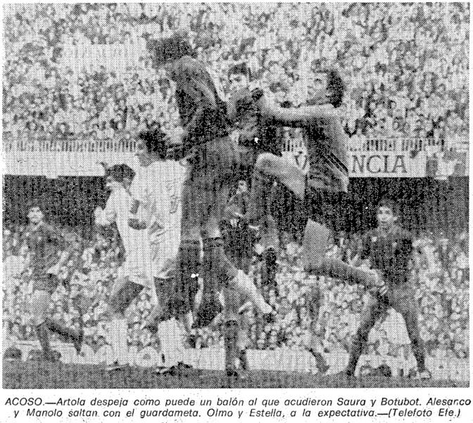 21.03.1982: Valencia CF 3 - 0 FC Barcelona