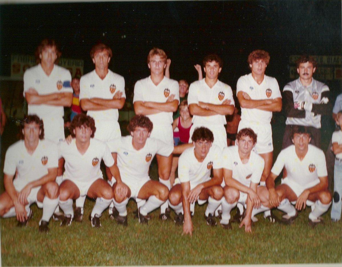 30.07.1983: Gandía CF 1 - 1 Valencia CF