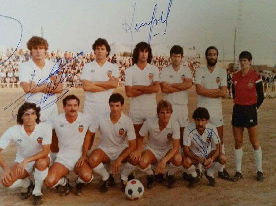 10.08.1983: SC Requena 1 - 2 Valencia CF