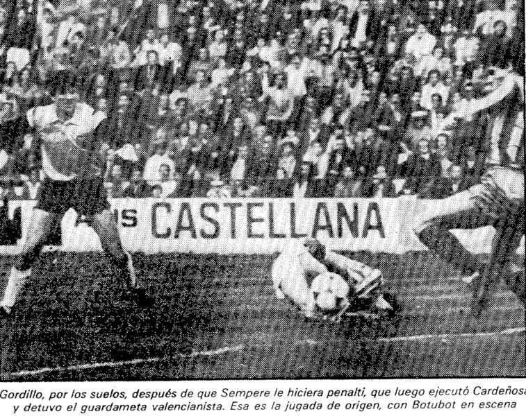 29.01.1984: Real Betis 3 - 2 Valencia CF