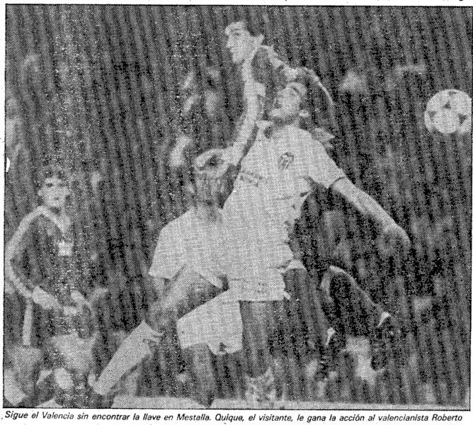 09.12.1984: Valencia CF 0 - 0 Rac. Santander