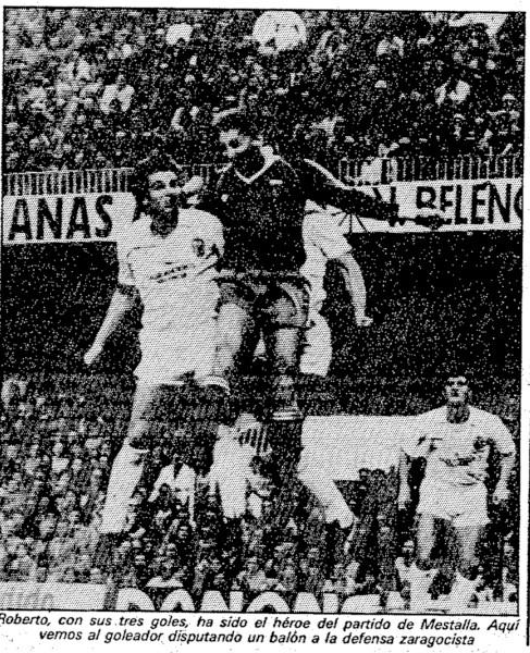 23.12.1984: Valencia CF 4 - 1 Real Zaragoza