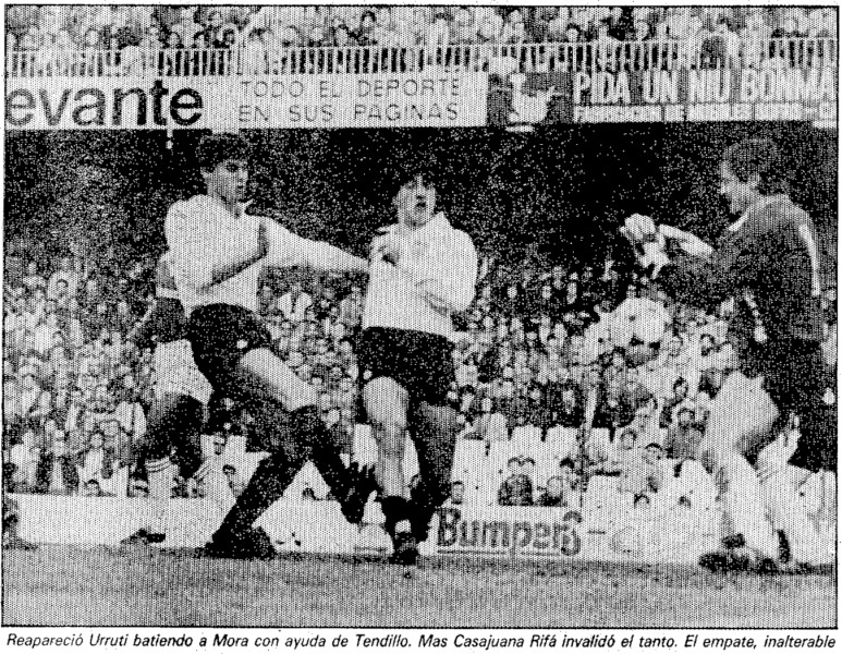 27.01.1985: Valencia CF 1 - 1 Real Murcia