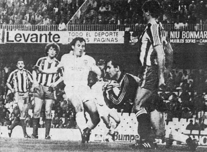 03.04.1985: Valencia CF 1 - 1 Sporting Gijón