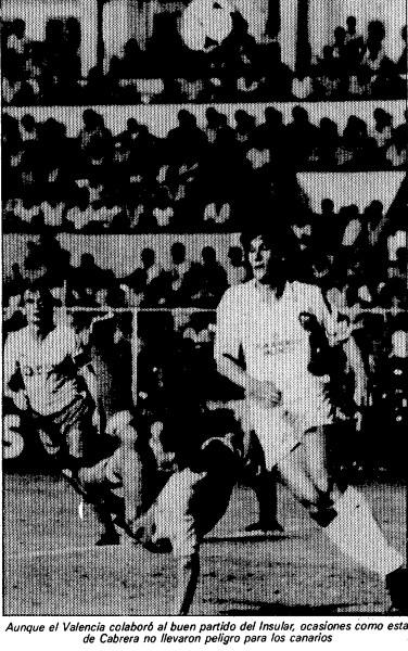 13.10.1985: UD Las Palmas 2 - 0 Valencia CF