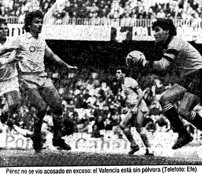 09.02.1986: Valencia CF 1 - 1 UD Las Palmas