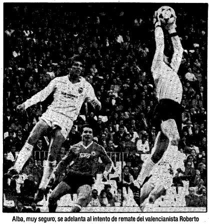 23.02.1986: Valencia CF 0 - 1 Rac. Santander