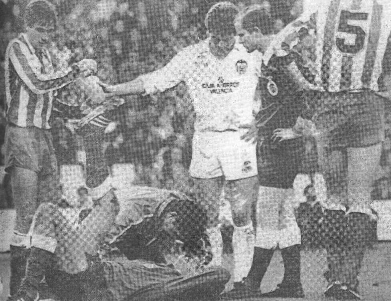09.03.1986: Valencia CF 1 - 1 At. Madrid