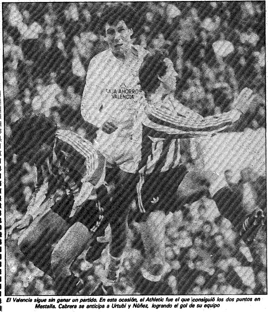 23.03.1986: Valencia CF 1 - 2 Athletic Club