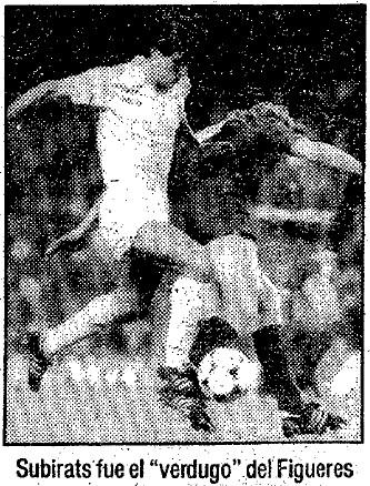 21.12.1986: Valencia CF 1 - 0 UE Figueres