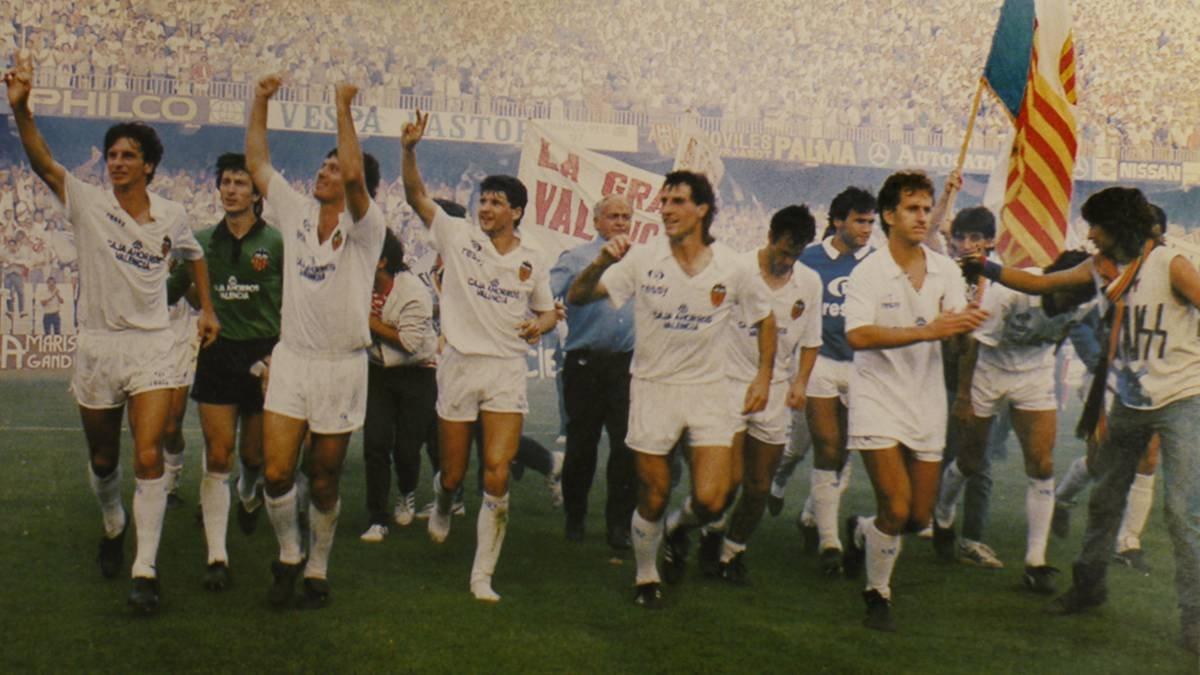 21.06.1987: Valencia CF 5 - 1 Elche CF