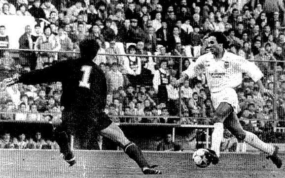 10.01.1988: At. Madrid 2 - 1 Valencia CF